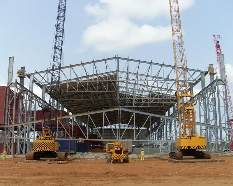 Lifting main girder for Power House Shelter