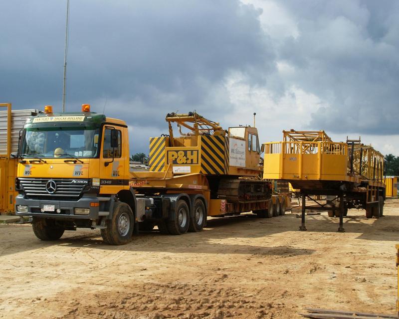 Transportation Crawler Crane PH