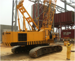 Hitachi kh300 crawler crane rental equipment dudes con nigeria