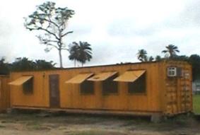 quarter machine containers