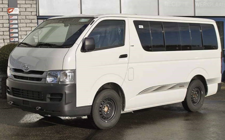 Toyota  Hi—Ace mini bus 15 seater :  CARS AND JEEPS for rent Nigeria