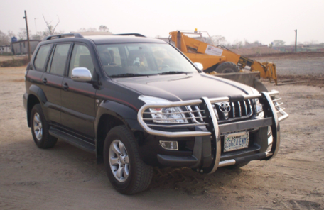 Toyota  Landcruiser Prado V4 :  CARS AND JEEPS for rent Nigeria